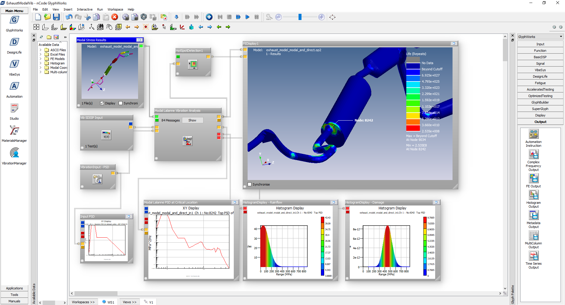DesignLife - CAE-based fatigue analysis